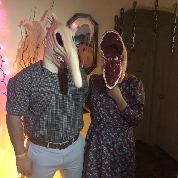 Other Beetlejuice Couple Costume Adam Martha Mask Poshmark